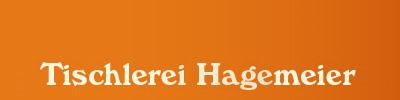 Tischlerei Hagemeier in Steinhagen