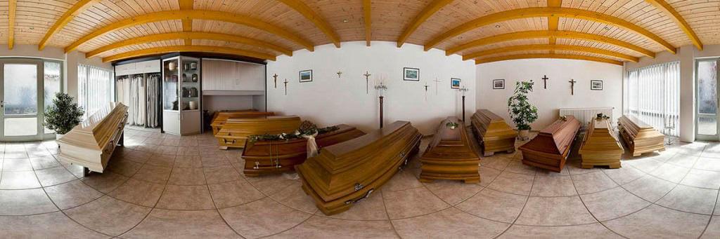 Bestattungen Hagemeier in Steinhagen, Ausstellungsräume 360-Grad-Ansicht