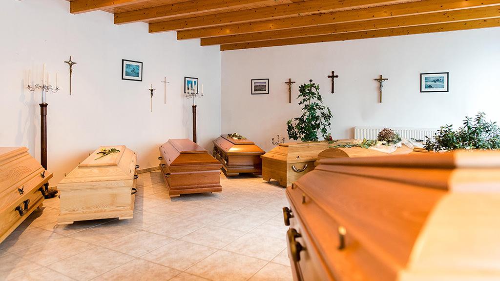 Bestattungen Hagemeier in Steinhagen, Ausstellungsräume Bestattungsunternehmen