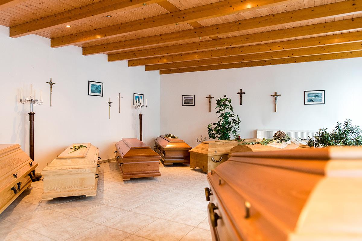 Bestattungen Hagemeier in Steinhagen, Ausstellungsräume Bestatter