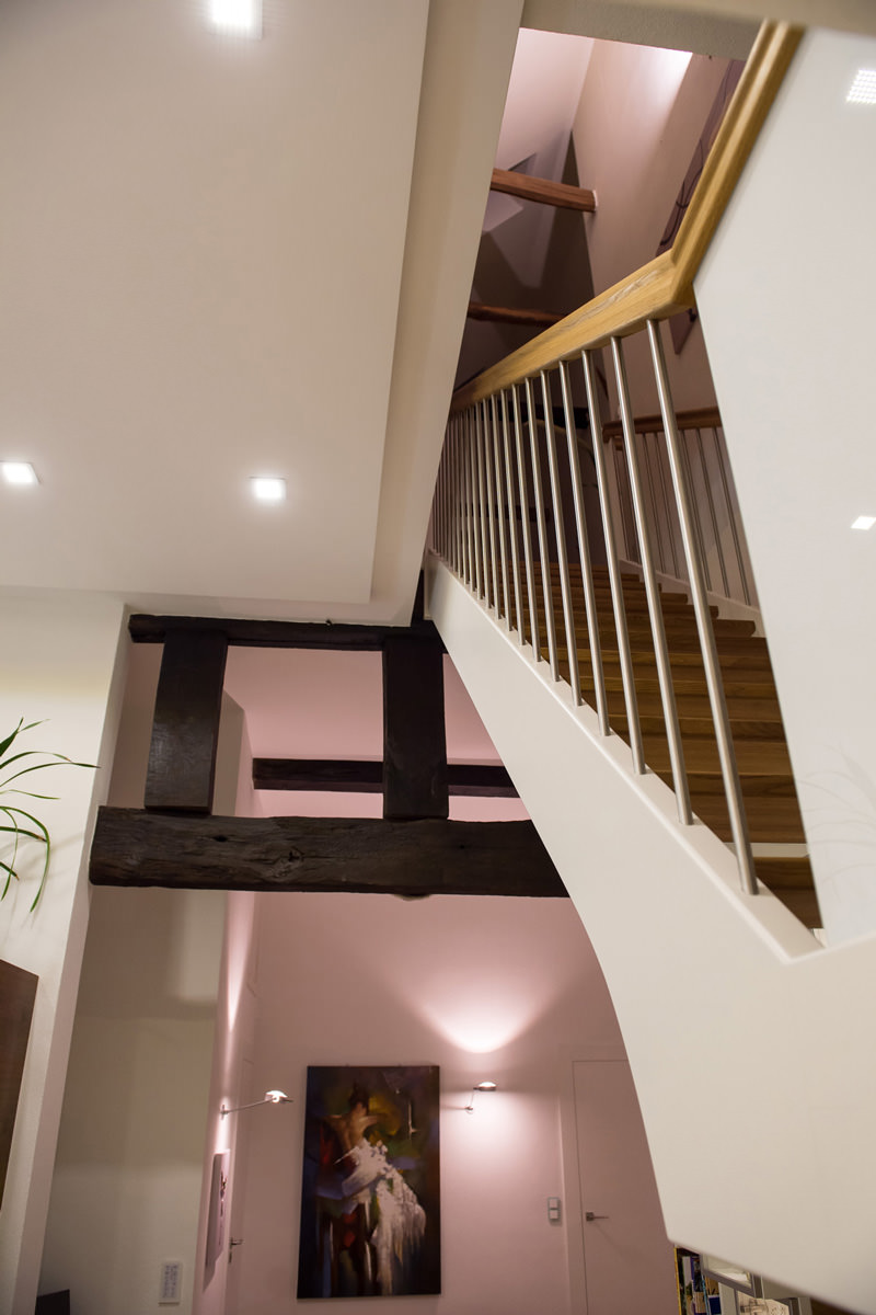 Tischlerei Hagemeier, Projekte, Referenz in Brockhagen, Treppe