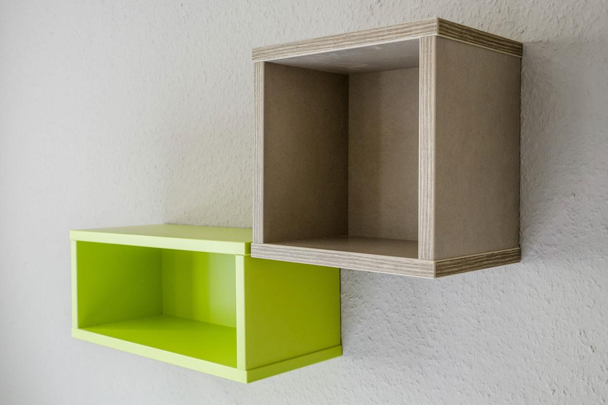 Tischlerei Hagemeier, Referenz Gütersloh, Möbelbau, Detail Regal