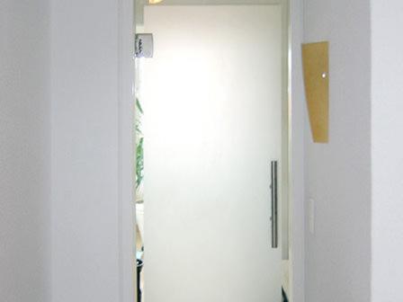Tischlerei Hagemeier in Steinhagen, Referenz Innentür Glas