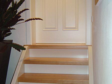 Tischlerei Hagemeier in Steinhagen, Referenz kleine Treppe
