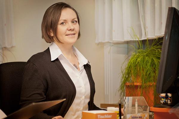 Tischlerei Hagemeier in Steinhagen, Mitarbeiterteam Irina Taran