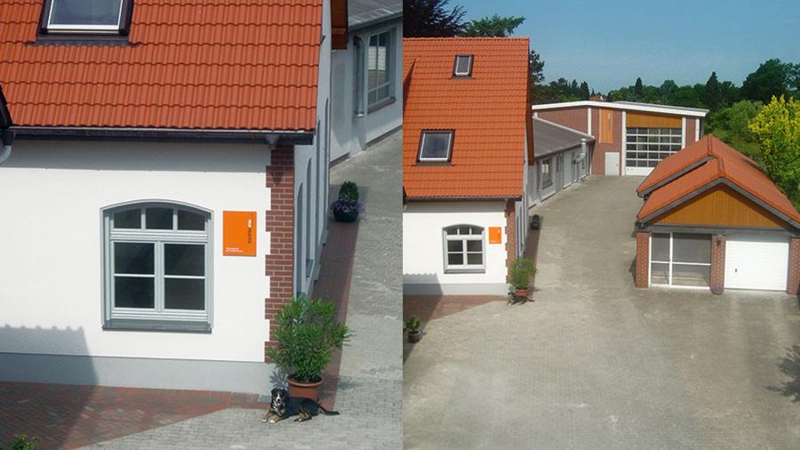 Tischlerei Hagemeier in Brockhagen, Außenansicht