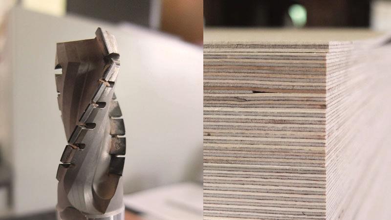 Tischlerei Hagemeier, Detail Materialien