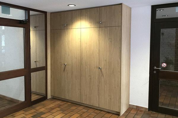 Projekte der Tischlerei Hagemeier in Steinhagen, Einbauschrank