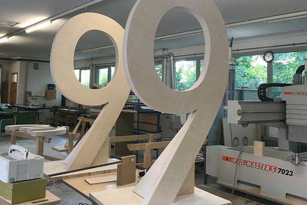Projekte der Tischlerei Hagemeier in Steinhagen, Sonderanfertigungen und Sonderformen
